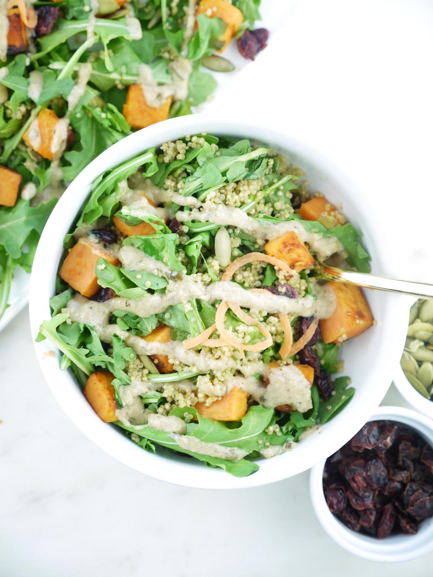 Photo of Sweet Potato Quinoa Salad by Mia Syn, RD